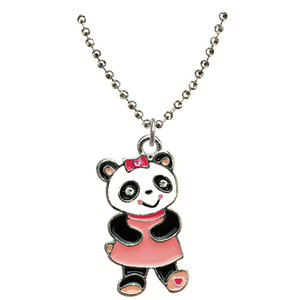 Friends Child Pendant Necklace with Gift Box Panda