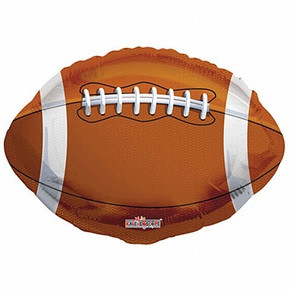 18 Inch Football Shape Foil Balloon