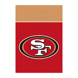 8 CT NFL San Francisco 49ers Favor Treat Bags
