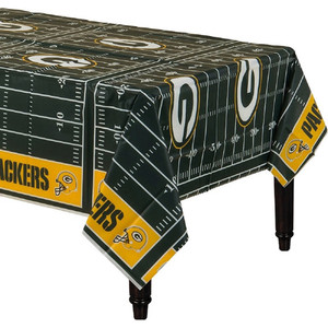 NFL Green Bay Packers All Over Plastic Table Cover