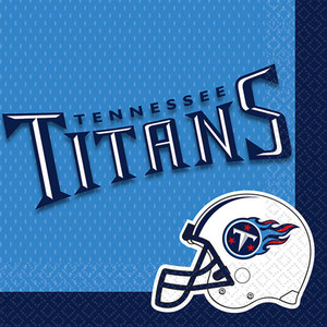 NFL Tennessee Titans Lunch Napkins