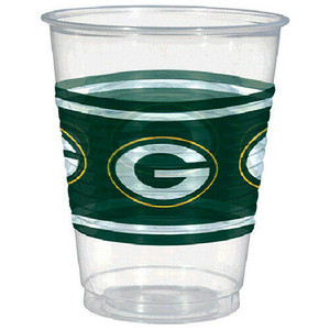 NFL Green Bay Packers Plastic Cups