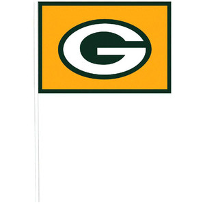 NFL Green Bay Packers Plastic Flags
