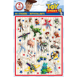 4 CT Toy Story IV Sticker Sheets