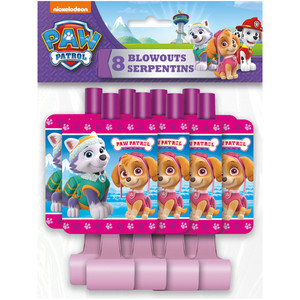 8 CT Paw Patrol Blowouts