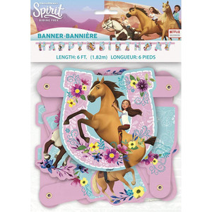 1 CT Spirit Riding Free Large Jointed Banner