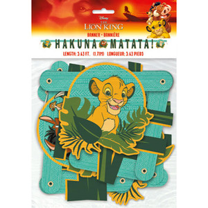 1 CT Lion King Large Jointed Banner