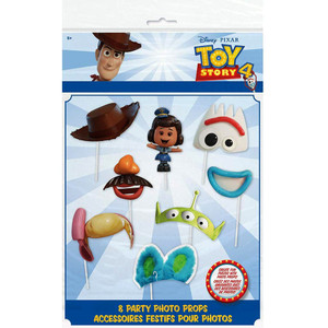 8 CT Toy Story IV Photo Props
