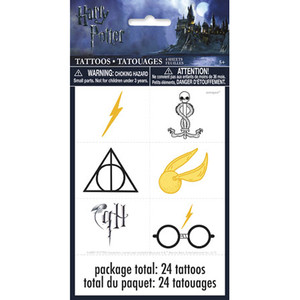 4 CT Harry Potter Tattoo Sheets