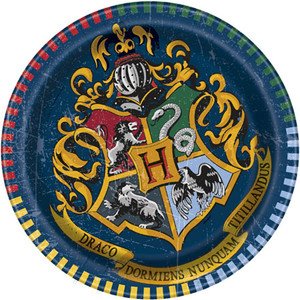 "8 CT 7"" Harry Potter Plates"