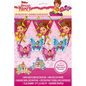 1 CT Fancy Nancy Decoration Kit 7 pcs.