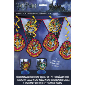 1 CT Harry Potter Decoration Kit 7 pcs.