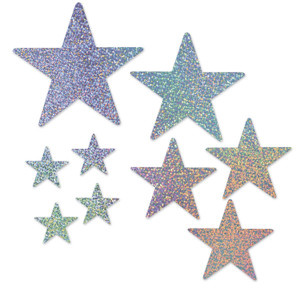 Packaged Star Cutouts