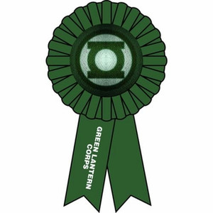 Green Lantern Award Ribbon