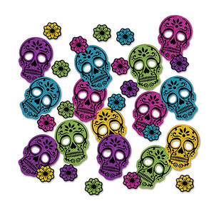 Day Of The Dead Deluxe Sparkle Confetti