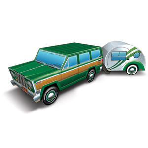 3-D Travel America Road Trip Centerpiece