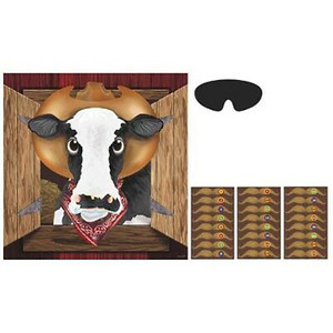 Pin The Cow Game