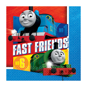 Thomas All Aboard Luncheon Napkins