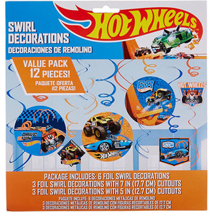 Hot Wheels Wild Racer Swirl Value Pack