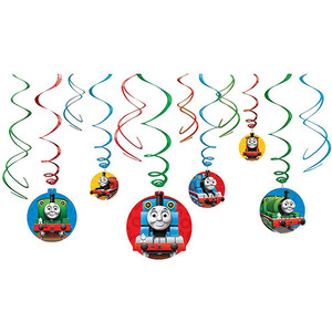Thomas All Aboard Swirl Decoration Pack