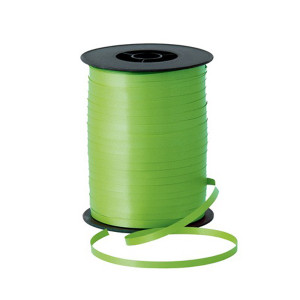 LIME GREEN CURL RIBBON 500 YDS