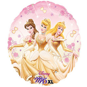 18 Inch Princess Enchantment Foil Balloons
