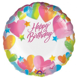 18 Inch Personalise Happy Birthday Balloon