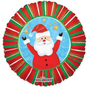 18 in. Funny Santa Foil Balloon
