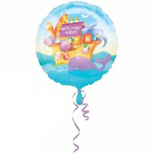 18 Inch Two By Two Baby Shower Balloon