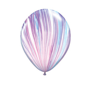 "11"" Qualatex Fashion SuperAgate Latex Balloons"