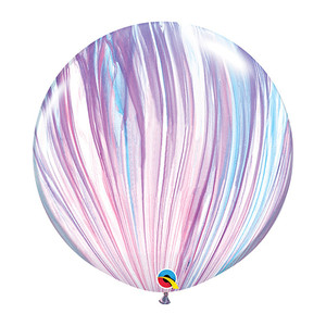 "30"" Qualatex Fashion Agate Latex Balloons"