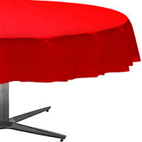 Red Apple Round Tablecover 84""