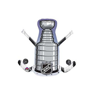 "29"" NHL Hockey Stick & Puck Foil Balloon"