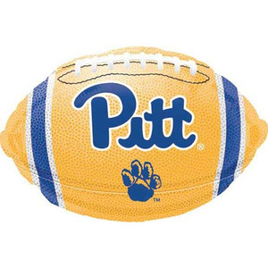 "18"" University of Pittsburgh Football Foil Balloon"