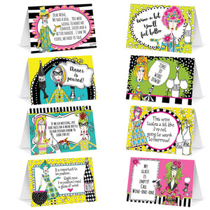 Dolly Mama's Adult Celebration Table Cards