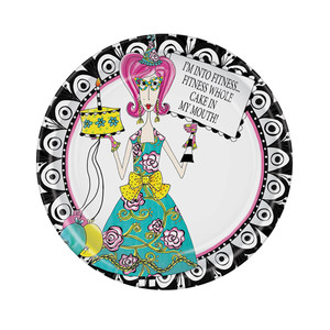 Dolly Mama's Adult Celebration Plates