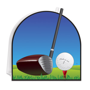 3D Golf Centerpiece