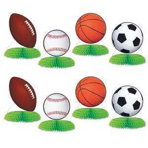 Sports Ball Mini Centerpieces