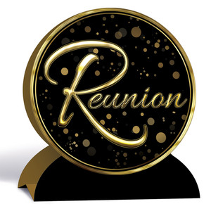 3-D Reunion Centerpiece