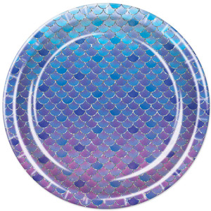 Mermaid Scales Plates