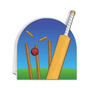 3-D Cricket Centerpiece