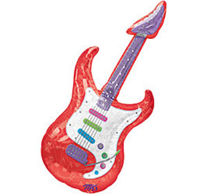 26 Inch Guitar Super Shape Balloon