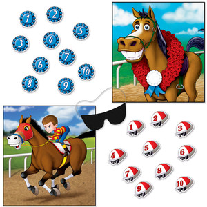 Horse Racing Party Games