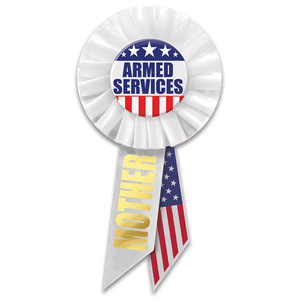 Armed Services Mother Rosette