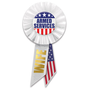 Armed Services Wife Rosette
