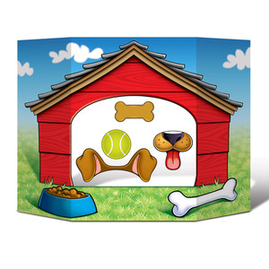 Dog House Photo Prop