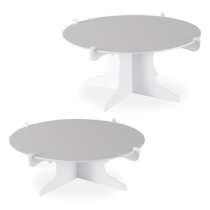 White Durable Cake Stands