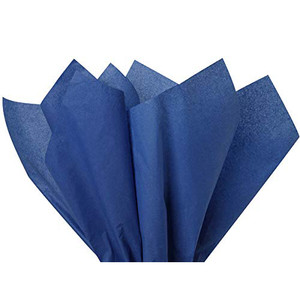 8 CT Solid Royal Blue Tissue Paper Sheets