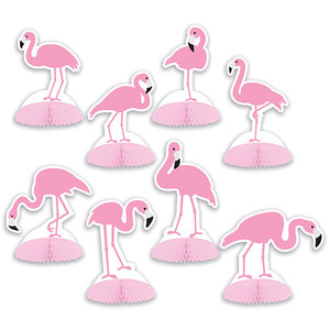 Flamingo Mini Table Centerpieces