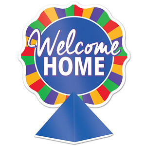 Three Dimensional Welcome Home Centerpieces